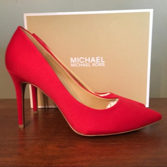 206126c92f MICHAEL Michael Kors Shoes | New Satin Claire Pumps | Poshmark